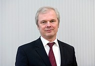 Ulrich Wallin, designated Chief Executive Officer of the Hannover Reinsurance Group, Hannover, Lower Saxony, Germany, Europe