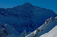Grande Casse, highest mountain of the Vanoise Natonal Park 3855 m, France, Savoie