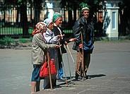 Beggars, Russia, Saint Petersburg