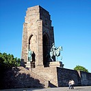 Kaiser_Wilhelm_Memorial at the Hohensyburg, Germany, North Rhine_Westphalia, Ruhr Area, Dortmund