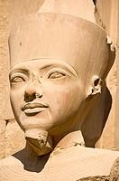 Statue of Queen Hatshepsut, Karnak temple complex, Luxor, Egypt, Africa