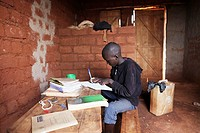 In Burundi, many new schools are currently buing built after peace has come  Half a million Burundi people fled during the war 2003-2006 to Tanzania b...