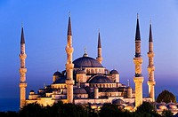 Mosque Sultan Ahmet Blue Mosque  Istanbul  Turkey