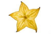 starfruit, carambola fruit, bilimbi, belimbing, Chinese star fruit, five_angled fruit, star apple Averrhoa carambola, slice of a fruit in shining thro...