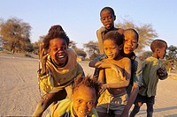 namibia, Little boys to Sesfontein