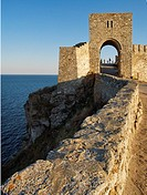 Medieval fortress on Cape Kaliakra, Black Sea, BulgariaKaliakra  is a long and narrow headland in the Southern Dobruja region of the northern Bulgaria...