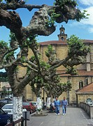 Detail of old town, Euskadi,