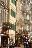 Old Meadowstreet, Karlovy Vary, Karlsbad, West Bohemia, Czech Republic, Europe