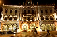 Rossio train station, Lisbon. Portugal