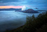 Mount bromo volcano java indonesia