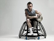 Wheelchair basketball player (thumbnail)