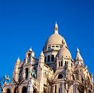 Basilique du Sacre Coeur, Montmartre.