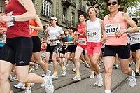 Runners, Swiss Women's Run, 1 June 2008, Berne, Switzerland, Europe