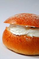 A shrove bun.