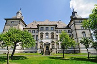 Former main building german knights´s order, castle, Sichtigvor, Warstein, Sauerland, North Rhine_Westphalia, Germany