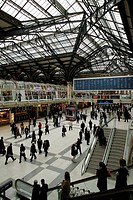 Station concourse, Liverpool Street Station, London, England, Great Britain, Europe