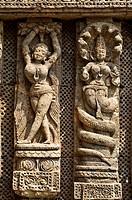 India,Orissa,Konarak,Sun temple or Suria,XIII century