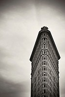 The Flat Iron building facade in Manhattan, New York, New York, USA