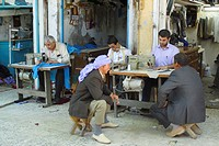 tailors sewing, Turkey