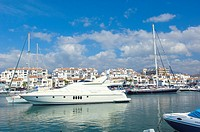 Puerto Banús. Marbella. Costa del Sol. Málaga-province. Andalusia. Spain.