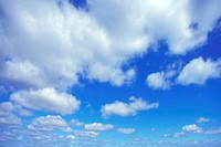 cloudy sky, Cumulus humilis