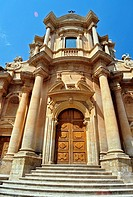 San Domenico Church. Noto. Sicily. Italy