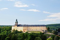 Architecture, destination, view, outside view, field recording, FRG, baroque, architectural style, building, federal republic, castle, Germany, Europe...