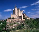 Alcazar, Segovia, Castile Leon, Spain