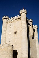 Castillo de Fuensalda&#241;a  Valladolid  Castilla-Le&#243;n  Espa&#241;a
