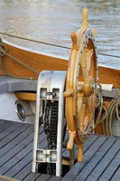 Wheel of a sailing ship
