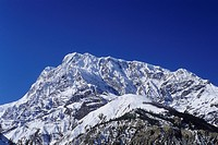 the Annapurna III with 7555 m height, Nepal