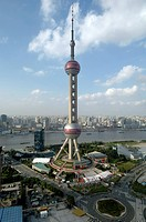 Oriental Pearl Tower, Pudong, Shanghai, China