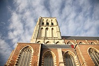 church in Brielle, South Holland, The Netherlands