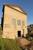Rome  Italy  Replica of the Curia on the Roman Forum