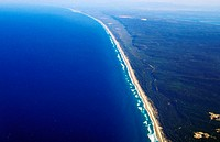 aerial photo of the Golden Coast, Australia