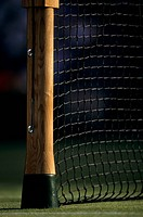 Tennis post and net