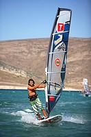 Surfing at Alacati, Cesme, Izmir area, Turkey, surf