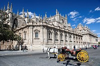 Cathedral, Seville, Andalusia, Spain