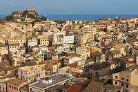 Old town of Kerkyra  Corfu island, Greece