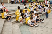 Pupils, Shenzhen, People's Republic of China, Asia