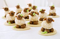 Marzipan sheep