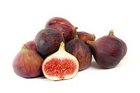 Cut-up and whole figs