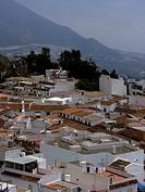 view at Mijas, Costa del Sol, Spain, Andalusia