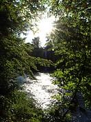 river Thaya, Austria, Lower Austria, Waldviertel, Hardegg