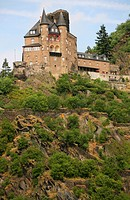 Burg Katz, Katz Castle, Germany, Rhineland_Palatinate, St. Goarshausen am Rhein