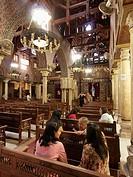 Iglesia colgante , El Cairo , Egipto