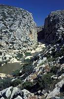 river Rio de la Venta and canyon, Spain
