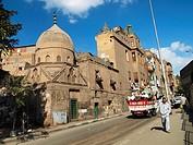 Calle Barrio Islámico, El Cairo, Egipto