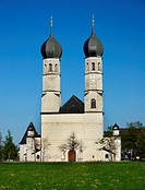 pilgrimage church Weihenlinden, Germany, Bavaria, Bad Aibling