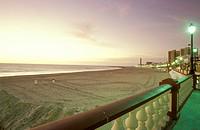 Spain, Andalucia, promenade by beach